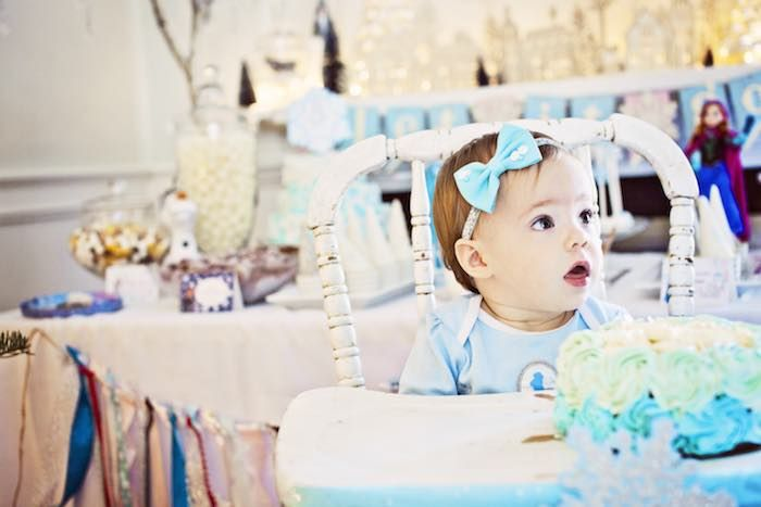Beautifully Detailed Frozen Birthday Party