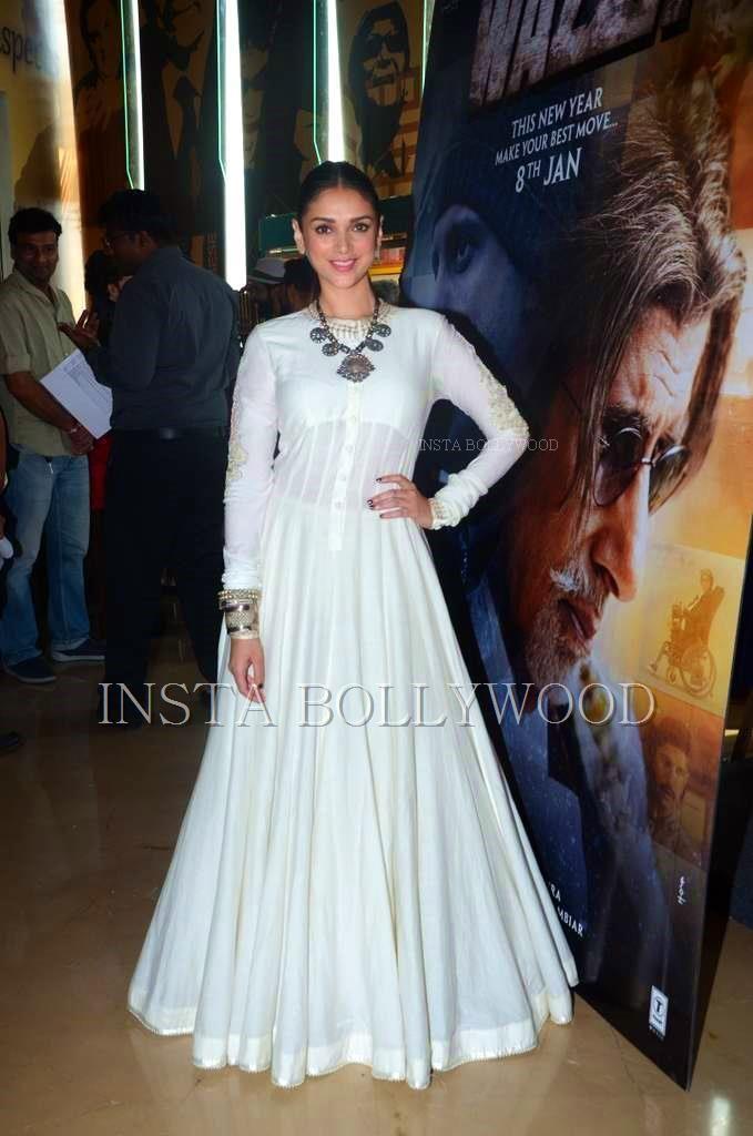 Aditi Rao Hydari in White Gown .pure love