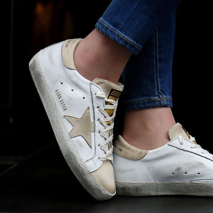 Golden Goose 17 F/W Women's Superstar Low Top Sneakers Vintage G31WS590 B30 #GoldenGoose #FashionSneakers