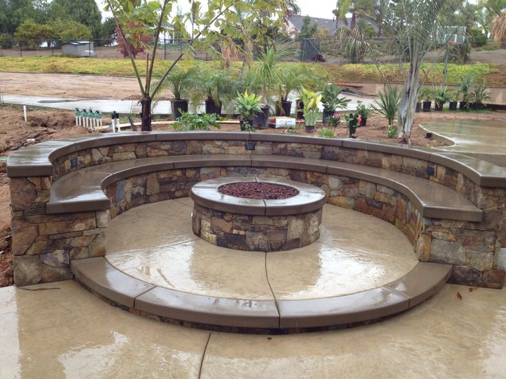 Lancon Plus Temecula Ca Fire Pit W Multilevel Seating