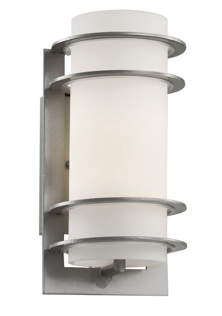 Cityscape 1-Light Outdoor Flush Mount