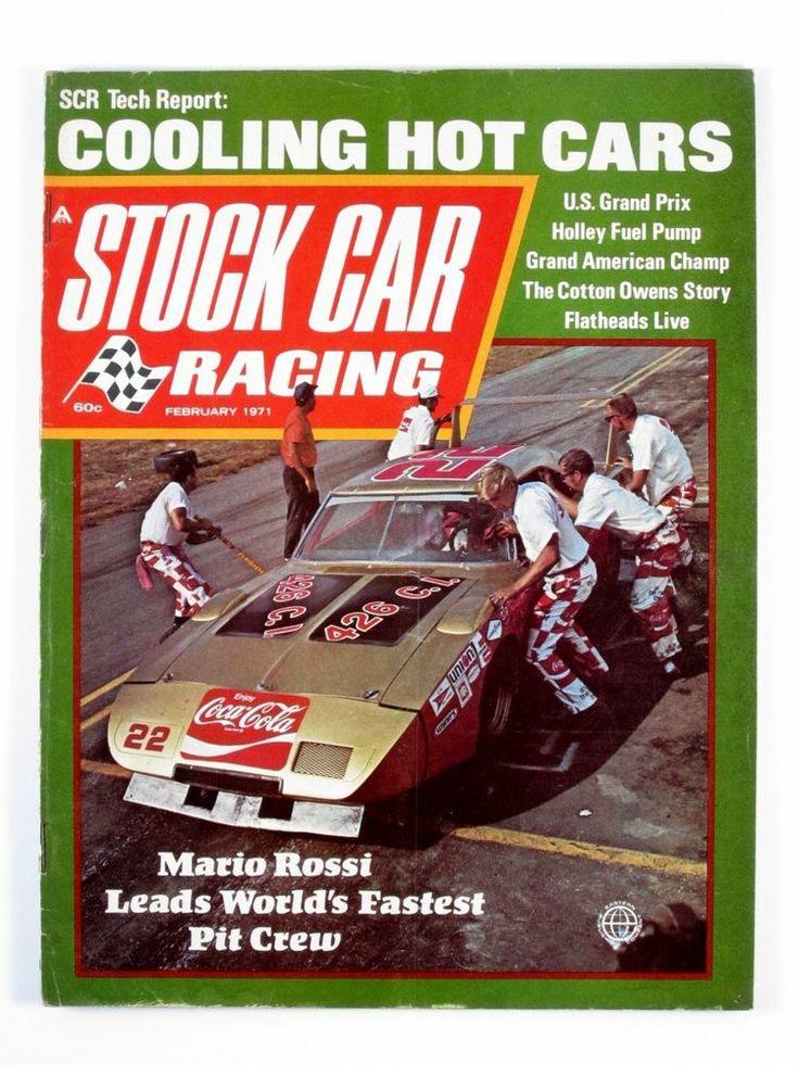 Stock Car Racing February 1971 Cotton Owens/NASCAR Rule