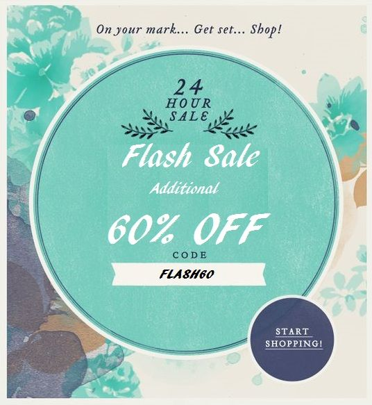 #Myntra Flash Sale Continues!  Get additional 60% OFF with No Minimum purchase. Click on http://bit.ly/1h8sEbx to use the code. Offer ends at midnight, Hurry!!