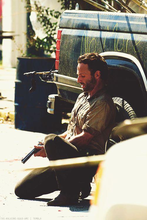 Rick - The Walking Dead s2