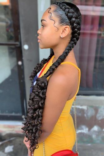 Feminine Goddess Braids Hairstyles To Add Some Ethnic Vibes To Your Style ★   – braids