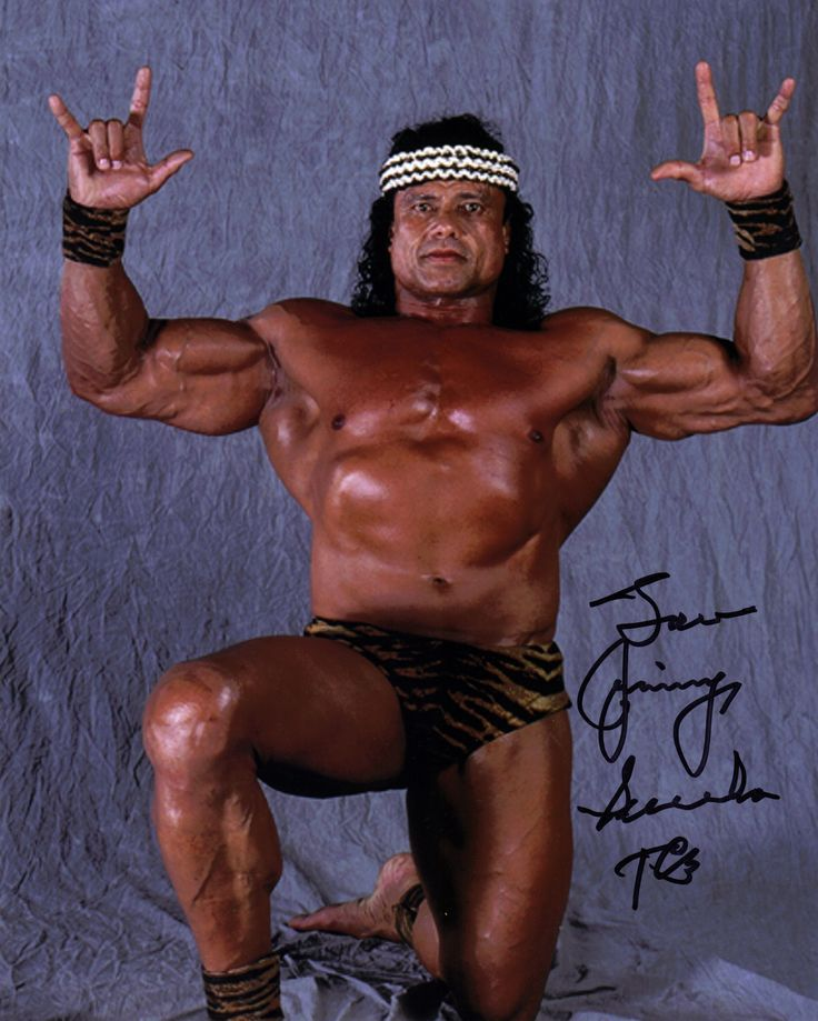 Jimmy Snuka, 73, Fijian-born American professional wrestler (WWF, AWA, PNW)