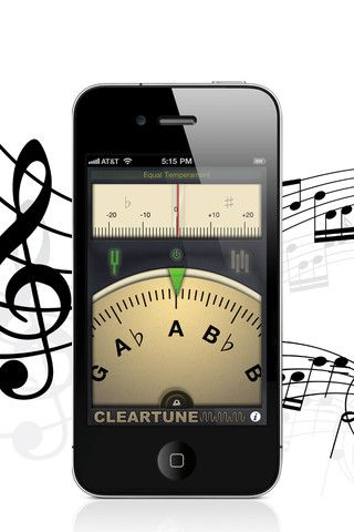 """""""My most indispensable app is my guitar tuner, Cleartune. None of the old visual or analog tuners are as precise. I've even taken it on stage with me!"""" - Rosanne Cash"""