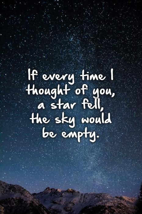 The sky would be more than empty!