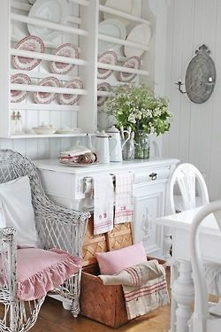 Shabby chic kitchen  ❤ ❤ ❤