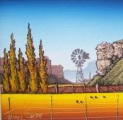 Autumn Landscape by Johan Smith - Johan Smith Art Galleries - Clarens, Free State