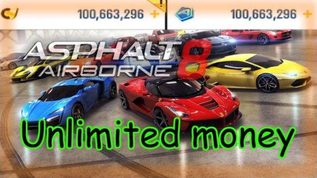 Download Asphalt 8 Airborne Apk MOD [Unlimited Money] 2018