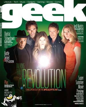 Our #Revolution cast is on the cover of GEEK Exchange!