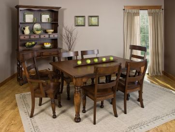 DutchCrafters Belleville Amish Legged Table Has A Beautiful Look That  Brings Some French Charm Into Your Dining Room Or Kitchen Dining Furniture.