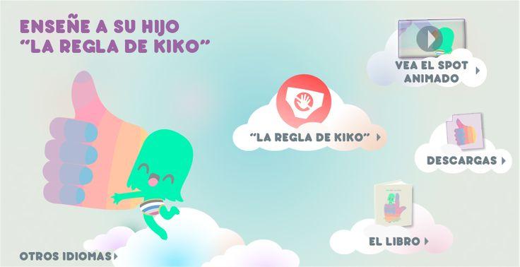 """Enseñe a su hijo """"La Regla de Kiko"""""""