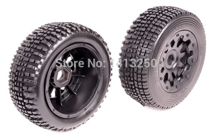 57.86$  Buy now - http://ali7fb.worldwells.pw/go.php?t=2048363306 - Baja, 5SC Front Wheel Set (2pcs),TS-H95100 , black available for baja parts with free shipping . 57.86$