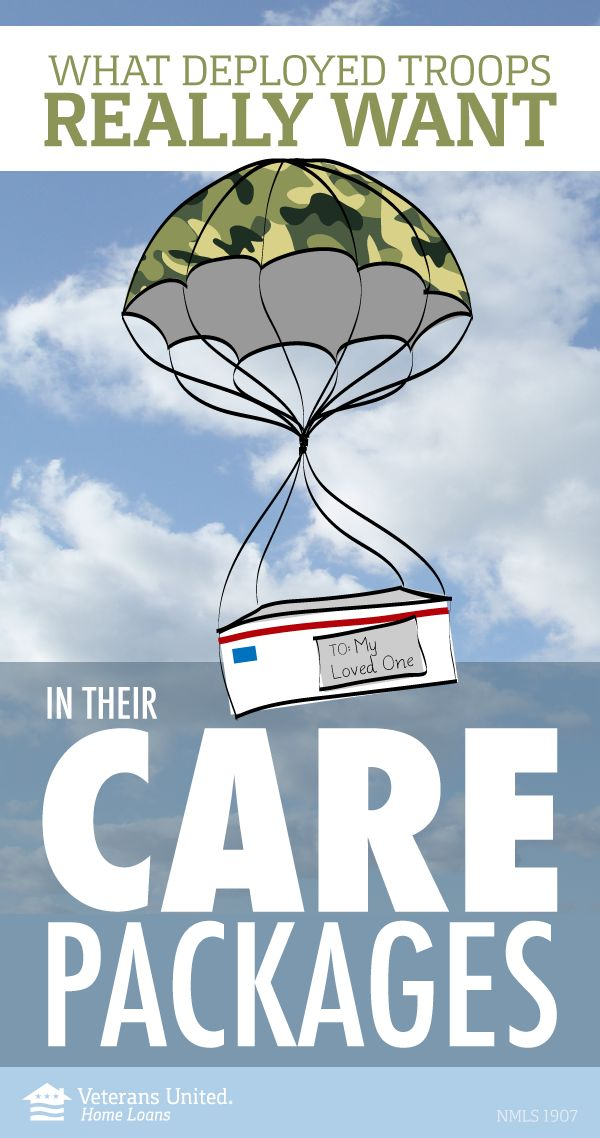 Next time you create a care package, be sure to include some of these things to make it your best care package ever. Your Service Member will love it.