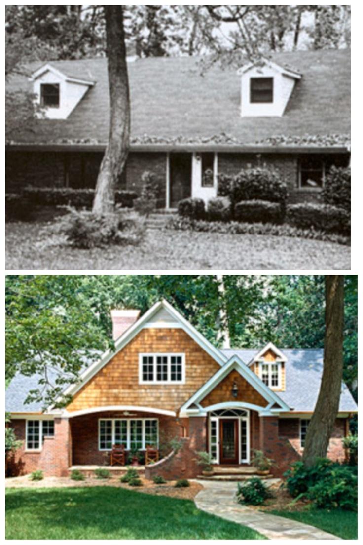 Best 25 Home Exterior Makeover Ideas On Pinterest Brick Exterior Makeover Diy Exterior