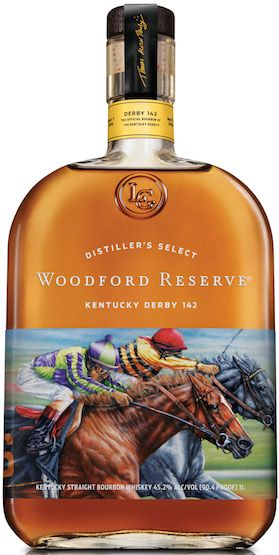 The 2016 #WoodfordReserve Kentucky Derby bottle. #Whiskey #Bourbon #KentuckyDerby | #BeverageDynamics MagazIne