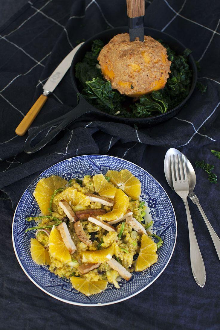 Recept på ljummen quinoasallad: http://martha.fi/sv/radgivning/recept/view-93381-5259