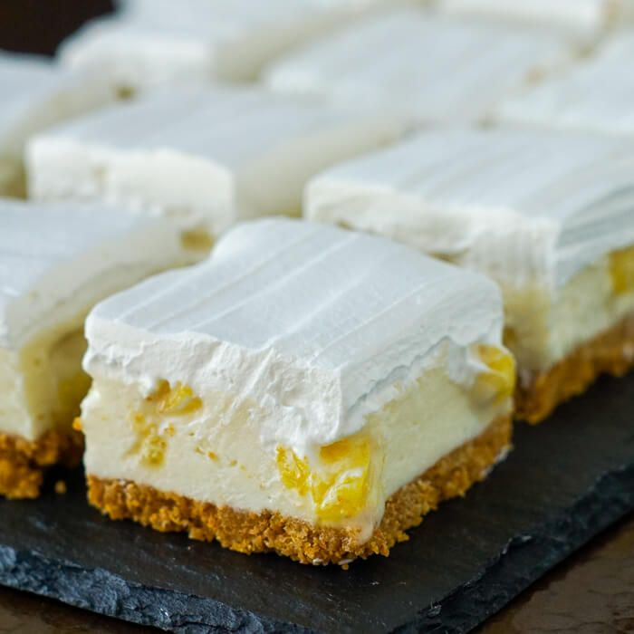 Pineapple Squares - an old time Newfoundland Cookie Bar recipe thats been updated with a bit of a reinvention and a new flavour addition.