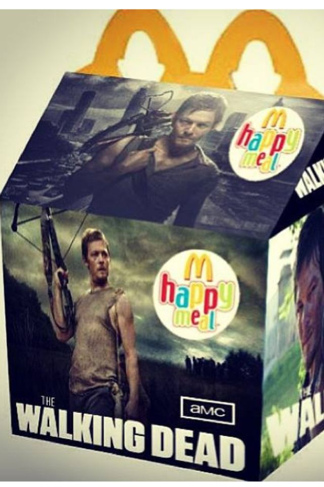 McDonald 's THE WALKING DEAD Happy MealHappy Meals, Daryl Dixon, Norman Reedus, Walks Dead, Awesome, Dead Happy, Walking Dead, Kids Meals, Dead Fans