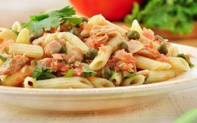 Ukrainian cooking: Macaroni Salad with Tuna