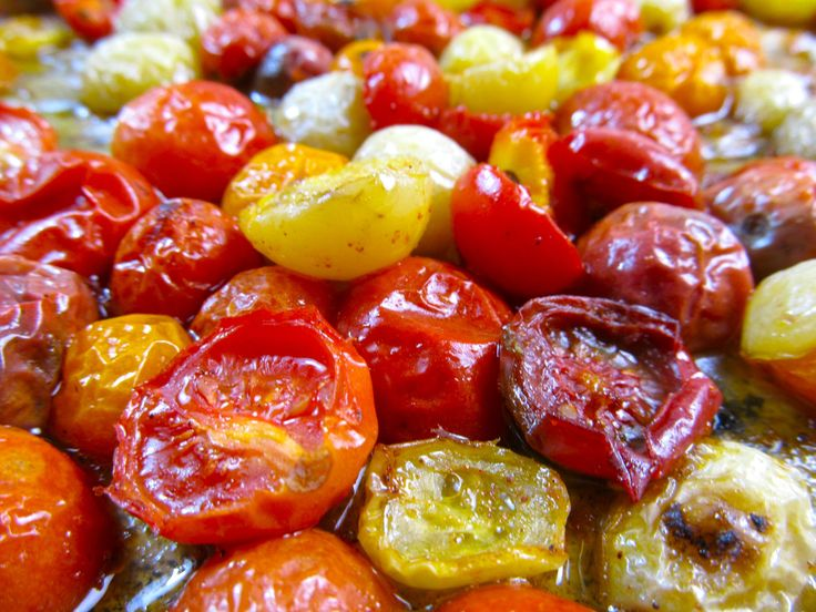 ... Roasted Cherries Tomatoes, Csa Heirloom Tomatoes, Roasted Heirloom