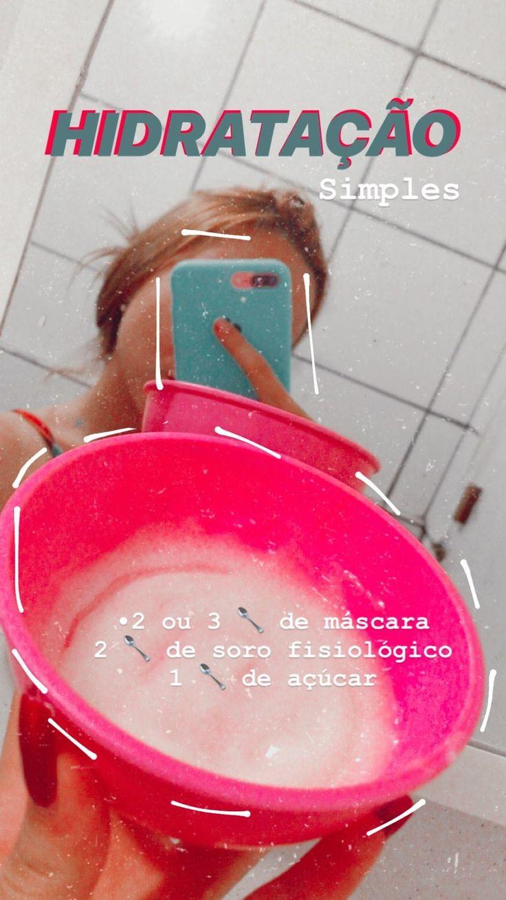 #blog #hidratação #hidrataçãocaseira #dicas