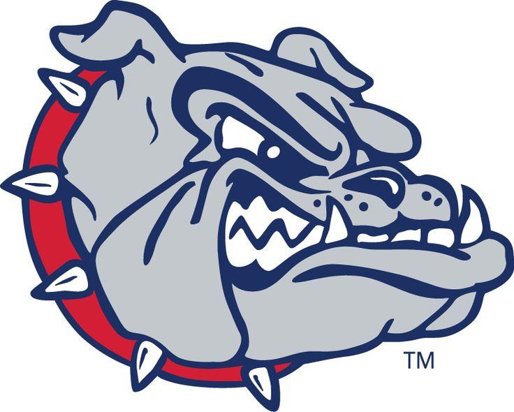 Gonzaga Bulldogs Alternate Logo (1998) - Bulldog Head