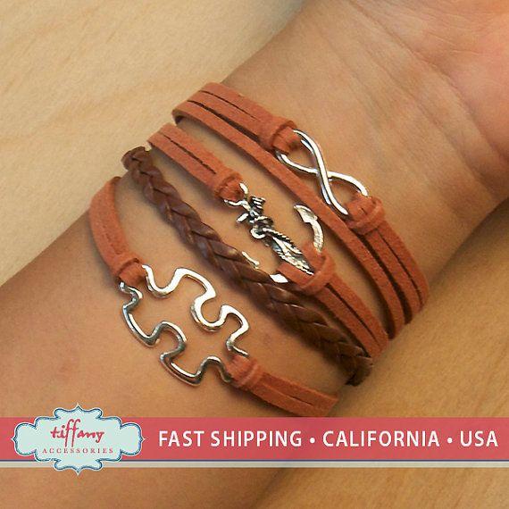 Bracelet bracelet infini, infini désir Bracelet, Bracelet de l