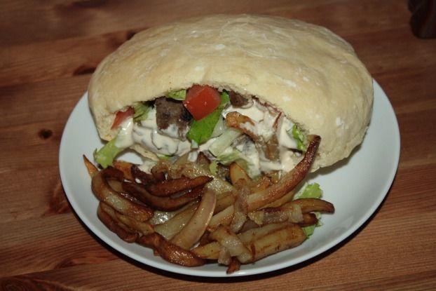 Recette - Pain à kebab | 750g