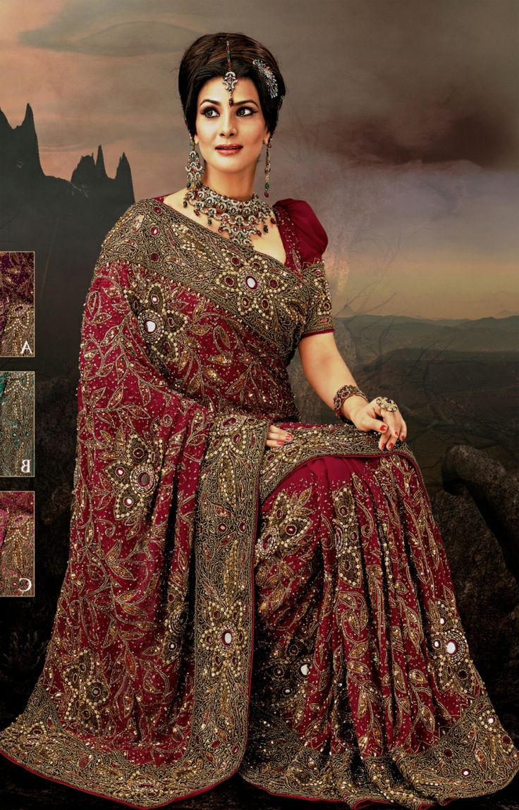 bollywood bridal dress  most beautiful indian bridal
