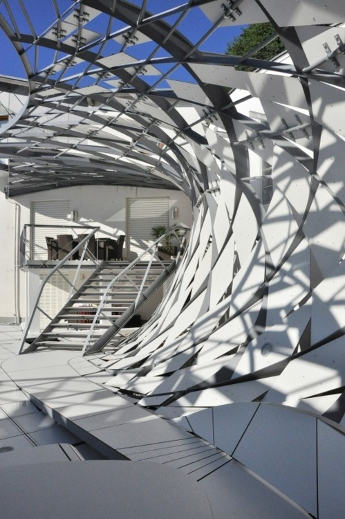 Best 25 steel structure ideas on pinterest industrial for Movement architecture concept