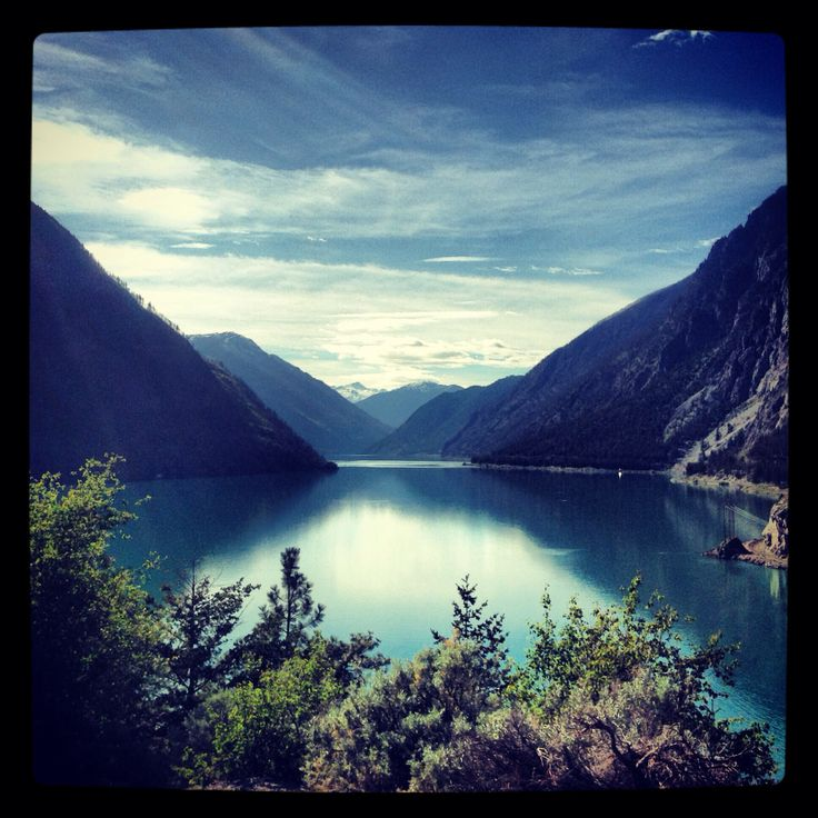 Hydro lake. Kamloops. Canada