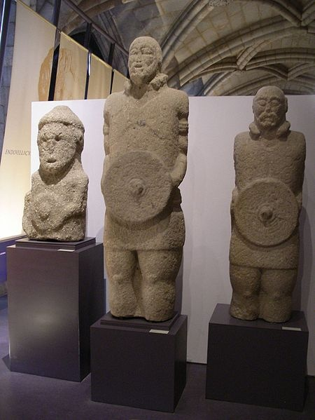 Statues of Lusitanian warriors in the National Archaeology Museum in Lisbon, Portugal / Shadowgate/ Creative Commons Attribution 2.0 Generic