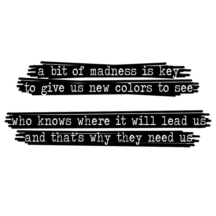 A bit of madness is key. #lalaland #quotes
