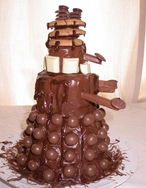 Extermination by Chocolate. I know this isn't an LOL per se but dang.. I'm hungry now. #doctorwho
