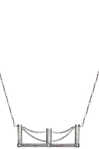 Bridge Necklace   Sterling Silver - $75.