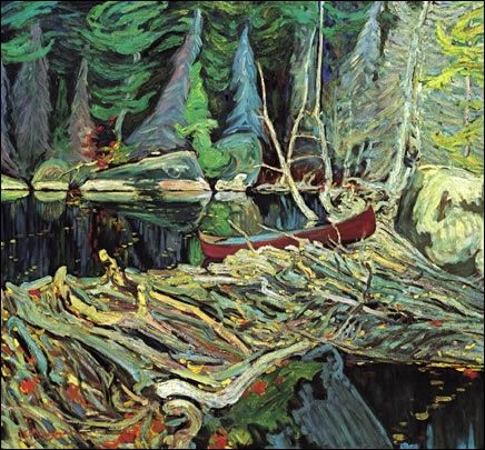 J.E.H. Macdonald- Group of Seven- Beaver Dam