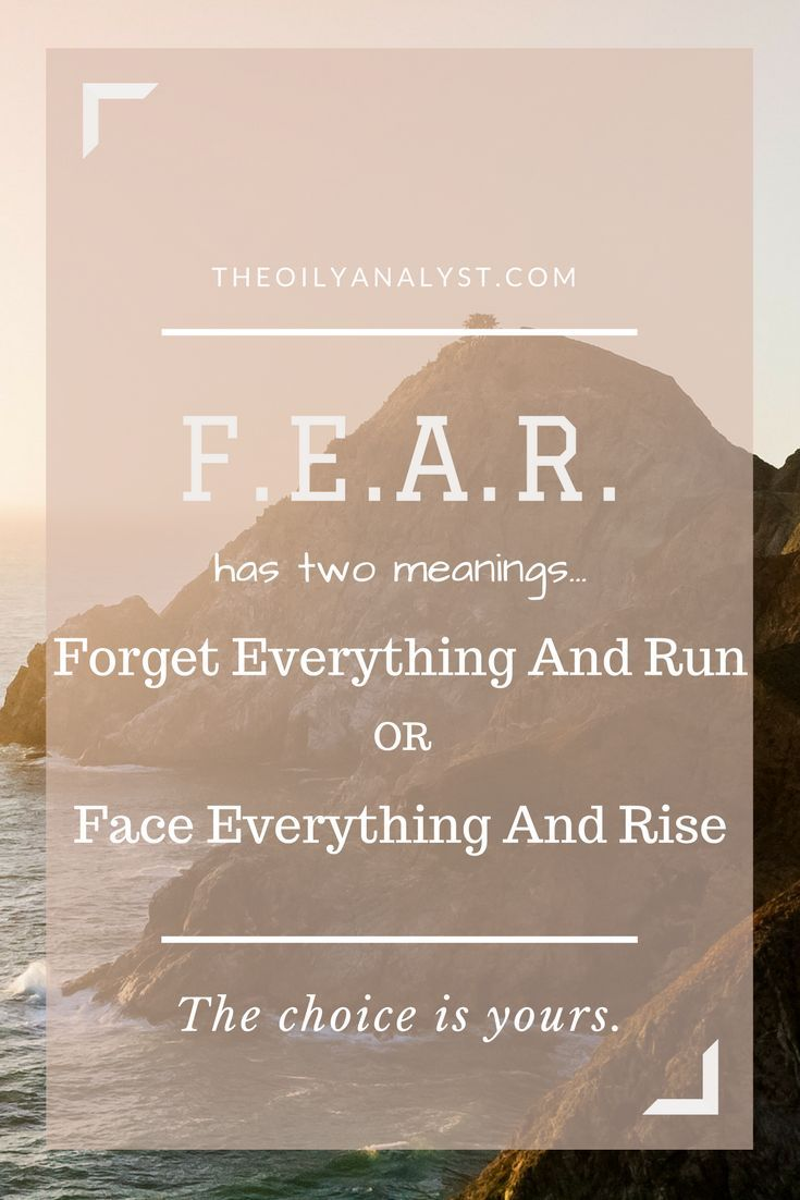 Face your fears, and great things will happen!  | Inspiration | Inspirational Quotes | Be the Best You | Love Yourself | Respect | Love | Saved by TheOilyAnalyst.com
