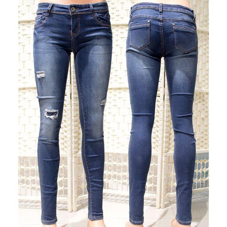 LADIES pantalons jeans, le persillage MIX du grossiste et import