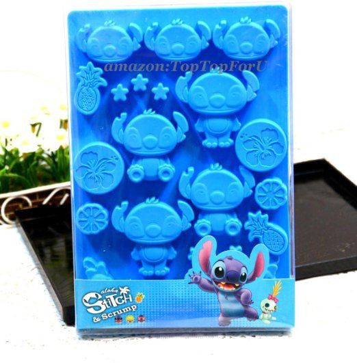 Disney Stitch Silicone Ice Mould Chocolate Candy Muffin Pan Cup Mold : Amazon.com : Kitchen & Dining