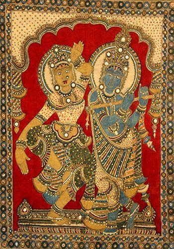 Kalamkari Painting – Desically Ethnic  #Kalamkari #Painting #desi #ethnic #desicallyethnic #shopnow #onlineshopping