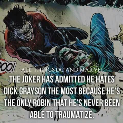 This is why Dick is the best robin
