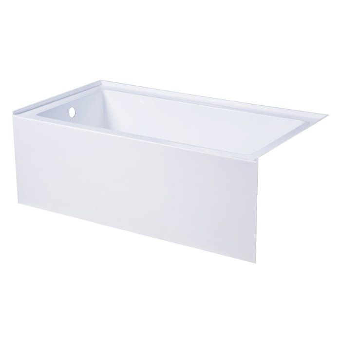 Aqua Eden 54 X 30 Alcove Soaking Bathtub Soaking Bathtubs Bathtub Remodel