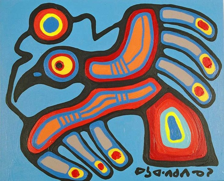 Norval Morriseau — Daily Art Fixx - a little art, every day