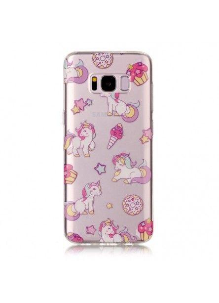 Coque Samsung Galaxy S8 - Multiples Licornes