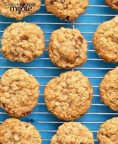Biscuits à l'avoine, à la cannelle et aux dattes #recette