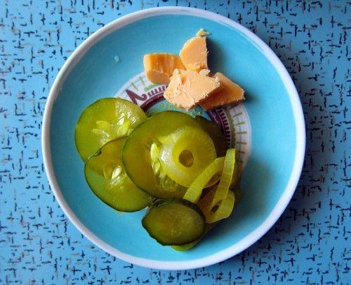 Freezer pickle recipe
