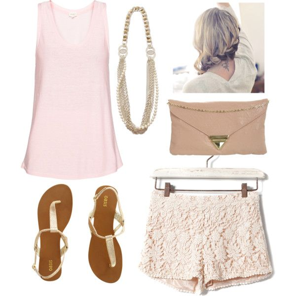 Lace + SummerLacey Shorts Outfit, Fashion Beautiful, Lacey Summer, Abut Fashion, Fashion Style, Cute Outfits, Summer Outfits, Lace Shorts, Dreams Closets